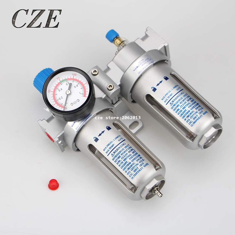 SFC200 / SFC300 / SFC400 Pneumatic Air Treatment Air Filter Air Compressor Oil Water Separator 1/4 or 3/8 or 1/2