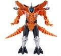 Dos estilos dinosaurio juguetes de transformación de plástico Robot figura de acción de juguete del dinosaurio modelo regalos para niños envío gratis