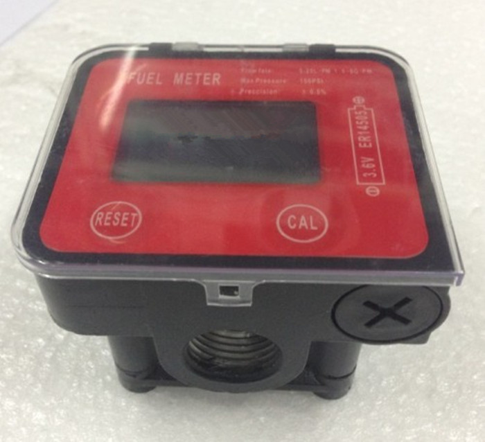Digital Oval Gear Diesel Flow Meter Sensor Counter Indicator Flowmeter Viscous liquid,heavy oil,polyvinyl alcohol,resins G3/4 tuf 2000m tm 1 dn50 700mm flow module for digital ultrasonic flowmeter flow meter sensor indicator counter