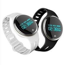Спорт браслет e07 фитнес отслеживания смарт запястье для ios iphone или android смартфон