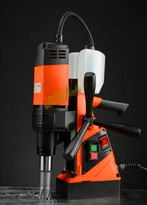 Automatische Magnetischen Bohren & Tapping Maschine DX 35 35mm Bohrmaschine 220 V-in Elektrowerkzeuge Zubehör aus Werkzeug bei