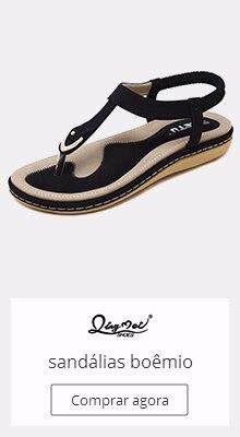 6672fc1ce BORRUICE sandalias rasteiras femininas 2018 Estranho sapato de noiva  Correntes de strass Thong Spot Sapatos femininos Diamante S..