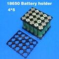 Frete Grátis! 4P5S 5P4S 18650 suporte da bateria 4*5 bateria li-ion 18650 titular Usado para 12 V 14.8 V ou 18 V bateria