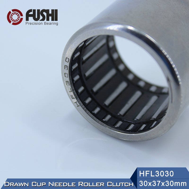HFL3030 Bearing 30*37*30 mm ( 1 PC ) Drawn Cup Needle Roller Clutch FCB-30 Needle Bearing hk0306 needle roller bearing 3mmx6 5mmx6mm 3x6 5x6 mm hk0306tn for 3mm shaft