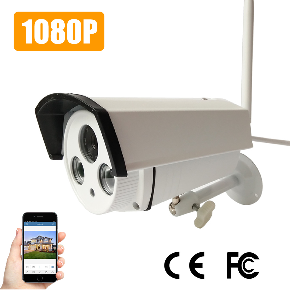 1080P Camera Wifi Outside Onvif HD OV2710 Sensor Ip Camera Wi fi Wireless Home Security CCTV