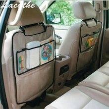Universal Car Auto Assento Voltar Protector Capa Para Crianças Mat Pontapé saco de armazenamento auto carro assento de carro de multi bolso de viagem