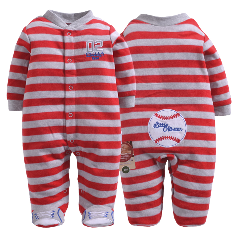 Newborn baby pajamas fleece spring winter warm coveralls sport style infants baby jumpsuit toddler boys outfit baby girl clothes paul frank baby boys supper julius fleece hoodie
