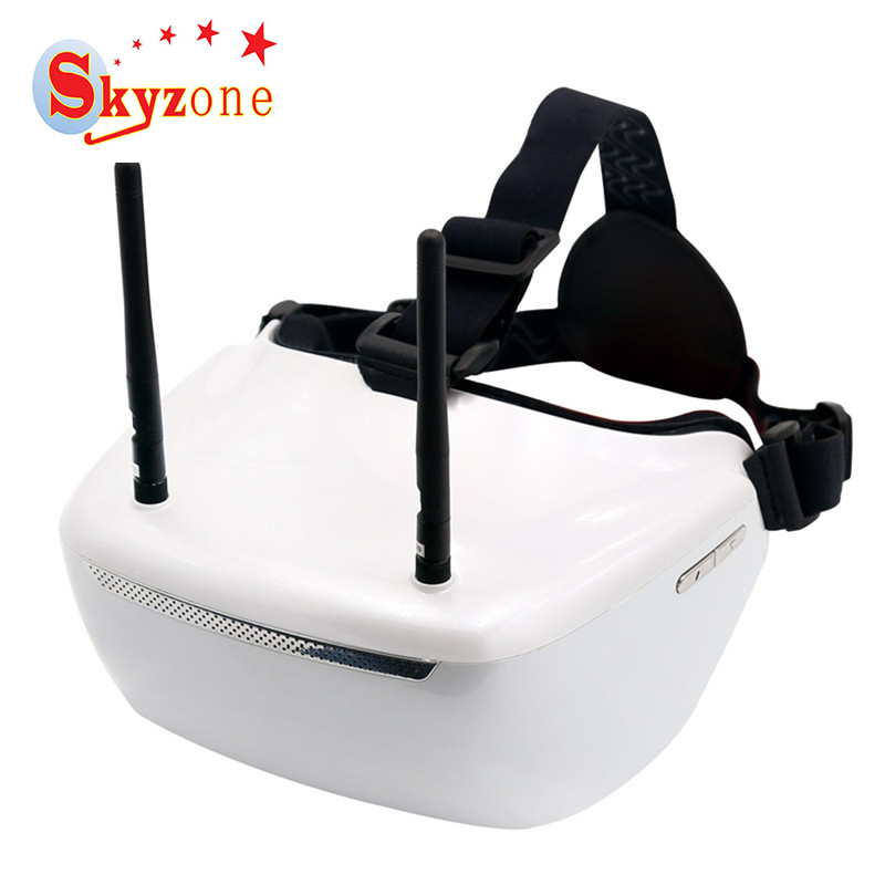 Skyzone SJ-H01 960*1080 2D 3D FPV Goggles AV Video Headset With Head Tracker For FPV System Racing Drone 3d fpv goggle glasses with 3d 2d mode 40ch 5 8g receiver w camera for rc drone aerial photography for skyzone sky02s v