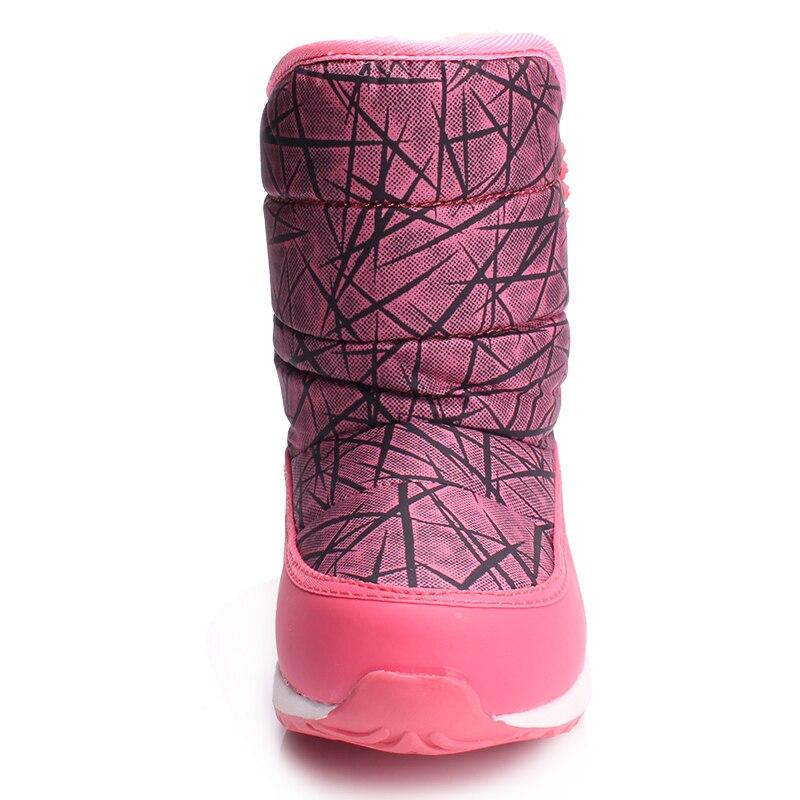 SKHEK Invierno Niños Tobillo Botas de Moda de Peluche para Niños - Zapatos de niños - foto 4