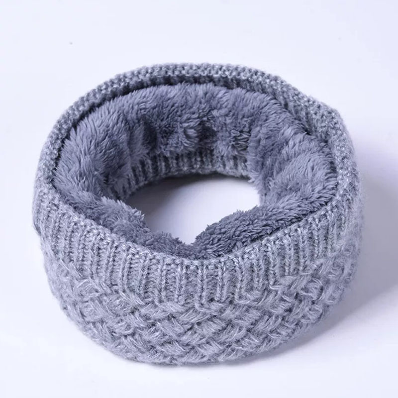 2019 Fashion Winter Scarf For Women Men Children Baby Scarf Thickened Wool Collar Scarves Boys Girls Neck Scarf Cotton Unisex