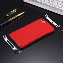 Metal Case Frame For Samsung Huawei Xiaomi Designer Phone Bag Case for Smart Phone Anti-Slip Mat Fall Protection PC Back Cover