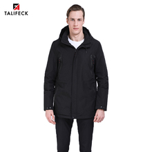 2019 Men Spring Padded Jacket Mens Hooded Trench Coat Autumn Men Padded Coat Parka Trench Overcoat Men Hinking Jacket Outwear все цены