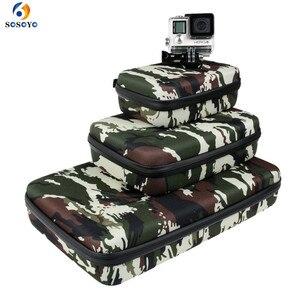 Image 1 - Portable Storage Bag Case Protective EVA Box For GoPro Hero 6 5 4 3+ Xiaomi Yi Sjcam Action Camera Accessories Camouflage Bag