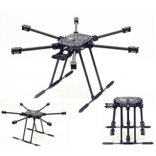 ZD850 Full Carbon Fiber 850MM Frame Kit with Unflodable Landing Gear Foldable Arm for FPV