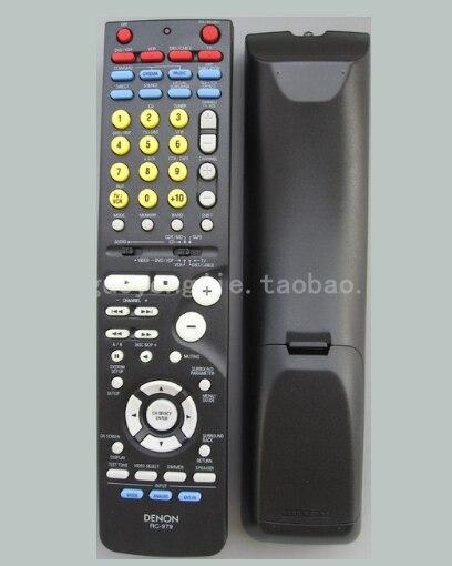 High Quality Universal REMOTE CONTROL RC-979 FIT DENON AV Amplifier lite full aluminum high quality universal remote supports mv02 mv04 mv06 v02 v03