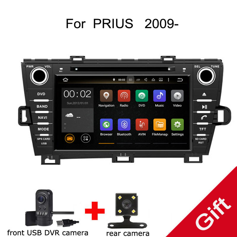 Android 9.0 PX5 Octa Core For Toyota PRIUS left/right hand Car DVD Multimedia player GPS Navigation Auto radio dvd player
