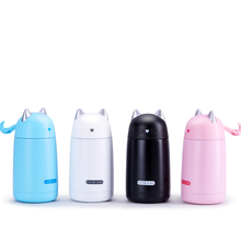 330ML Thermos Cup Cartoon Moe Cat Thermo Mug Drinkware Kids Water Bottle Stainless Steel Vacuum Leak-proof Insulation F5