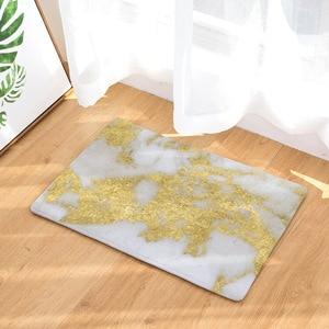 Image 3 - CAMMITEVER Luxsury Marble White Black Gold Carpet Bedroom Mat Rug Carpet for Living Room Rugs For Bedroom Kids Room Wholesale