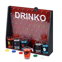 GoGifts Drinko Shot Drinking Party Game For Fun to Vote ''Bomb Game'' to Get Together Fun Entertainment Board Game