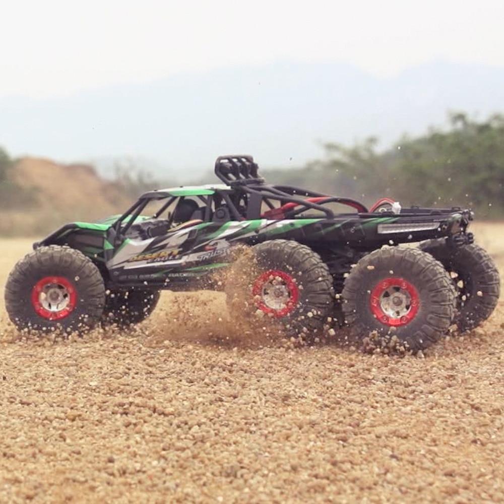 Feiyue fy06 1:12 carro rc 2.4 ghz controle remoto sem fio 6wd rc fora de estrada deserto caminhão rtr 60km de alta velocidade amortecedor rc carros
