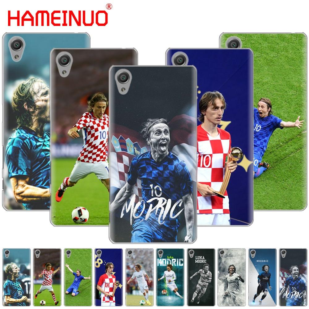 Half-wrapped Case Hameinuo Footballer Luka Modric Cover Phone Case For Sony Xperia Z2 Z3 Z4 Z5 Mini Plus Aqua M4 M5 E4 E5 E6 C4 C5 Lovely Luster