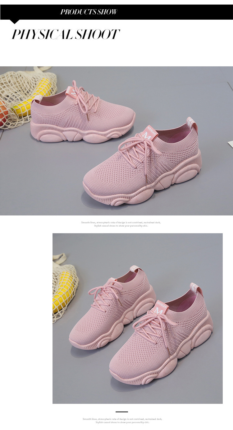 Breathable Women Casual Shoes Summer Lace Up White Platform Sneakers Fashion Soft Walking Flat Women Vulcanize Shoes New VT220 (9)