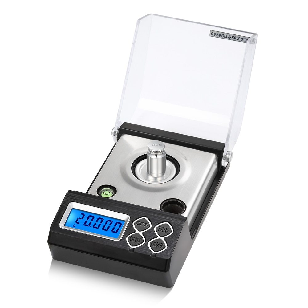 20g 30g 50g 0.001g Precision Digital Scale Professional Digital Milligram Scale Electronic Balance Powder Gold Jewelry Scale
