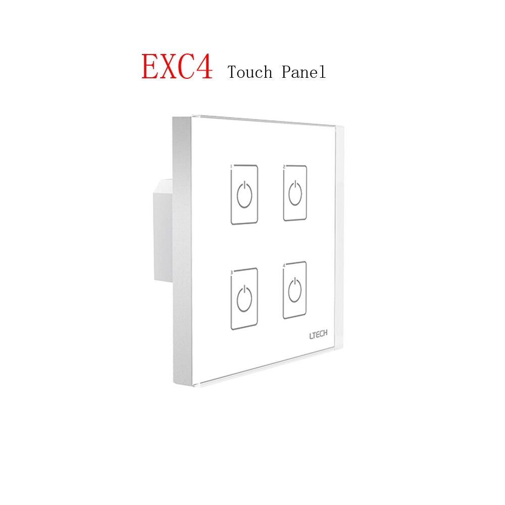 LTECH 110V 220V AC EXC4 Wall Mount DMX 2.4GHZ RF Dimming