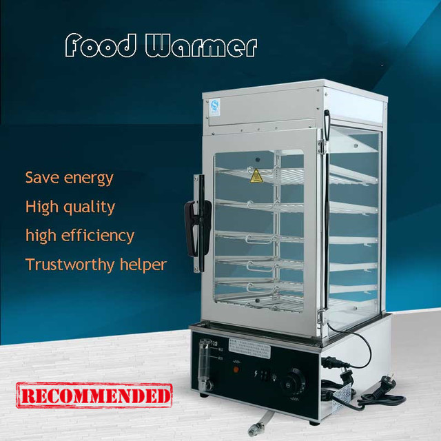 220V Food Warmer Food Heating And Preserving Equipment Hot Food Holding  Cabinets Insulation Container
