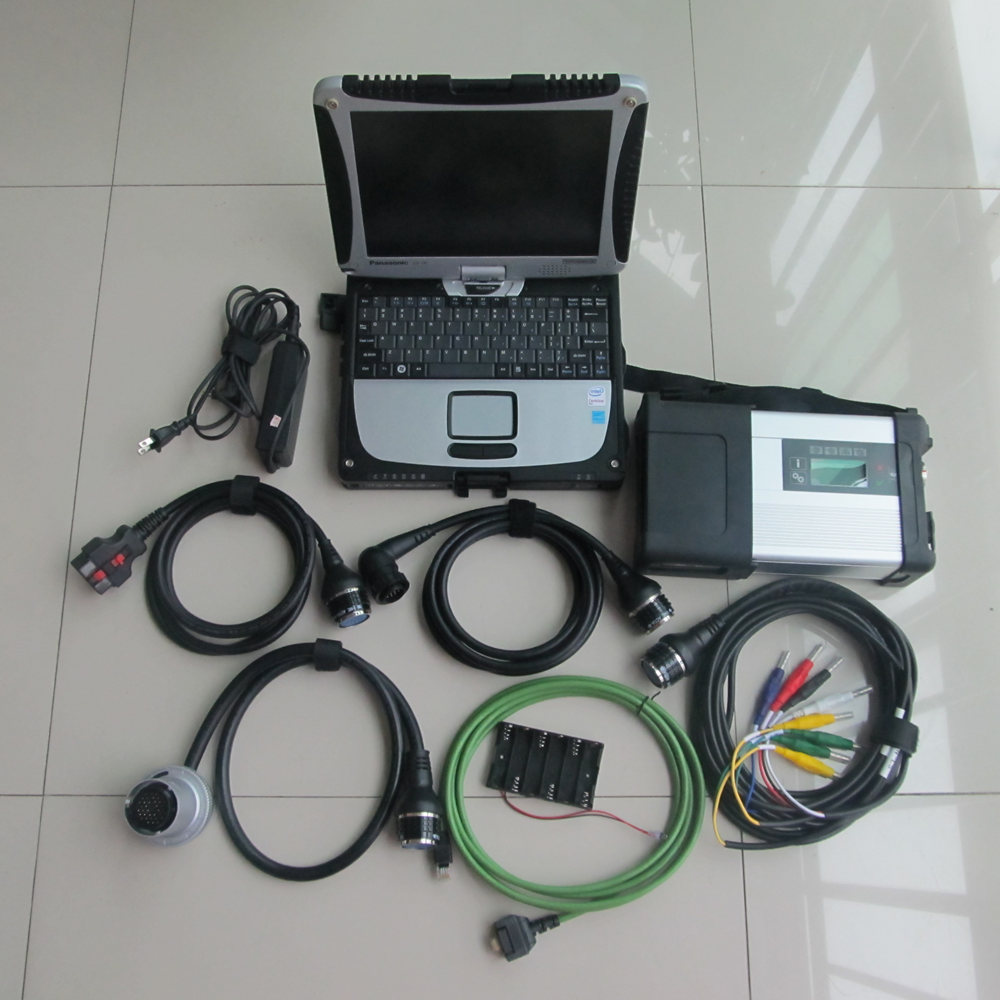 Newest! MB SD C5 Star Diagnosis Sd Connect compact 5 diagnosis tool with New 500g HDD software V2017.07 in cf-19 military laptop велосипед forward cyclone 1 0 2016