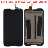 100 Original For Blackview BV5000 LCD Display Touch Screen Assembly Digitizer For 5 0 Inch HD