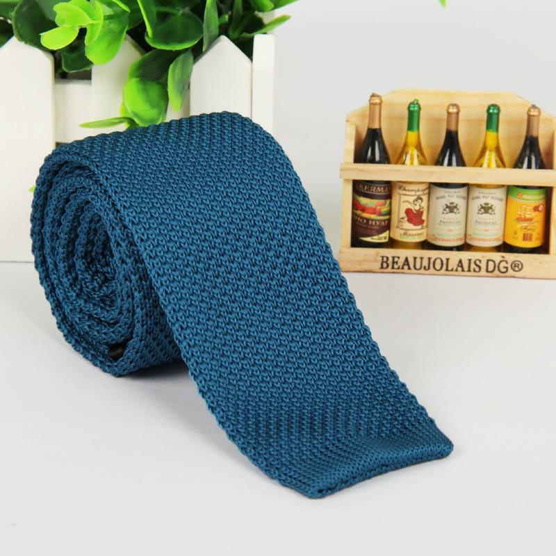 HTB1 W1NLpXXXXXsaXXXq6xXFXXXx - Vintage Style Plain Color Knitted Ties