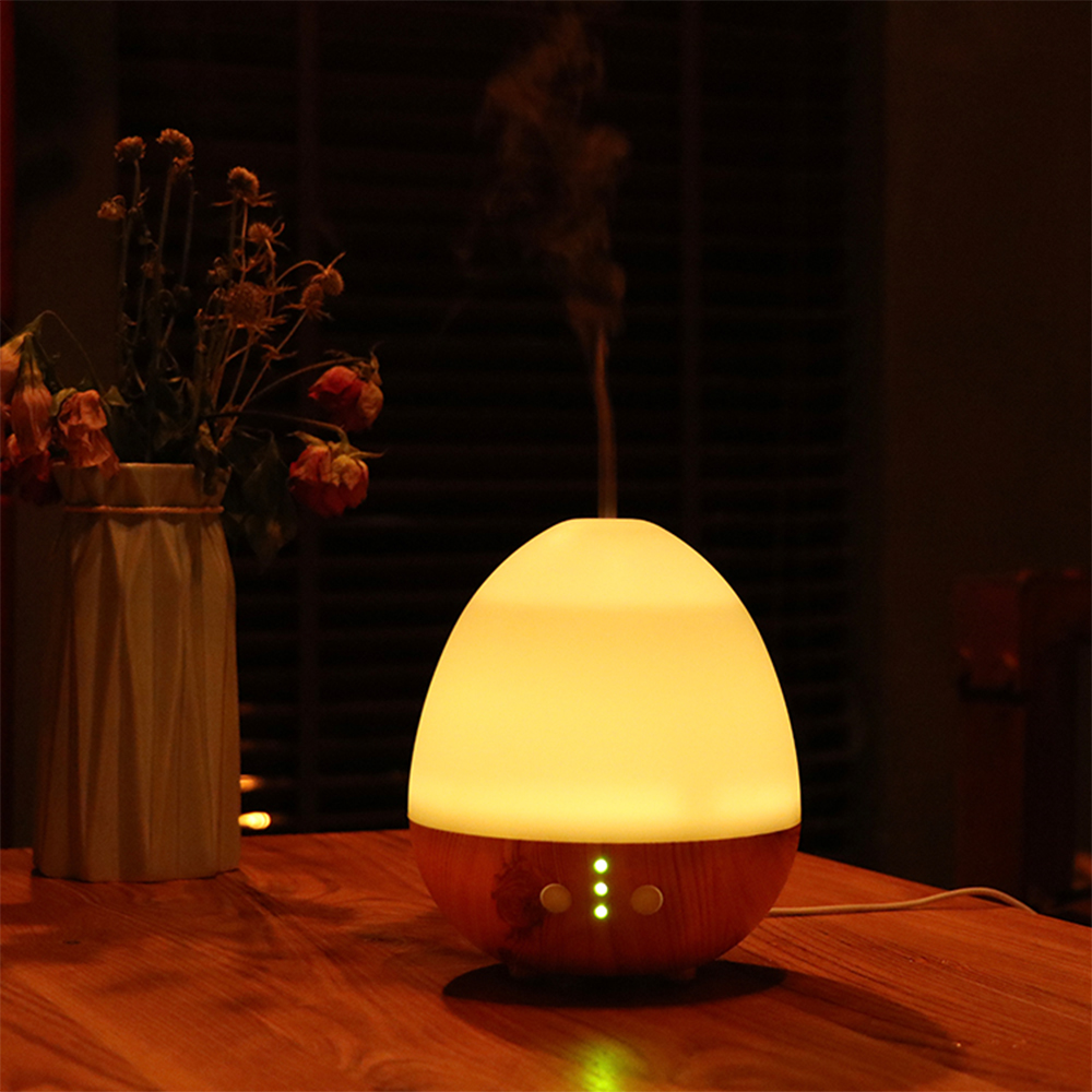 230ML USB Aroma Diffuser with LED Mood Lamp for Home Ultrasonic Cool Mist Air Humidifier Aromatherapy Essential Oil Diffuser new led usb humidifier mini aroma diffuser air humidifiers with aroma lamp aromatherapy diffuser mist maker with led light 220ml