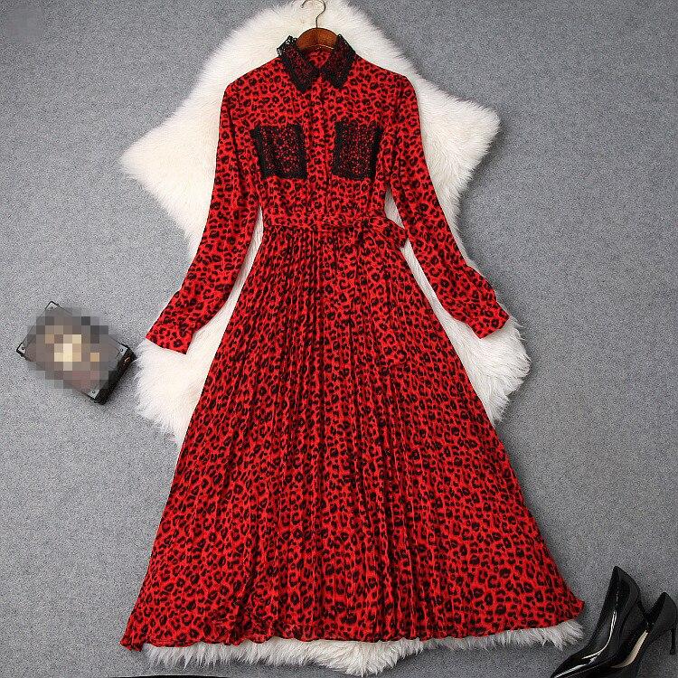 A Ps01467 Européenne Robe Qualité Nouvelle Mode Femmes Supérieure Partie De Style 2019 Luxe Design Printemps rrv0q6