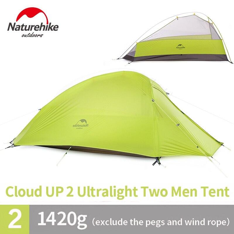Naturehike Cloud Up Series 1 2 3 Человек Палатка Открытый Сверхлегкий туристическое снаряжение - 6