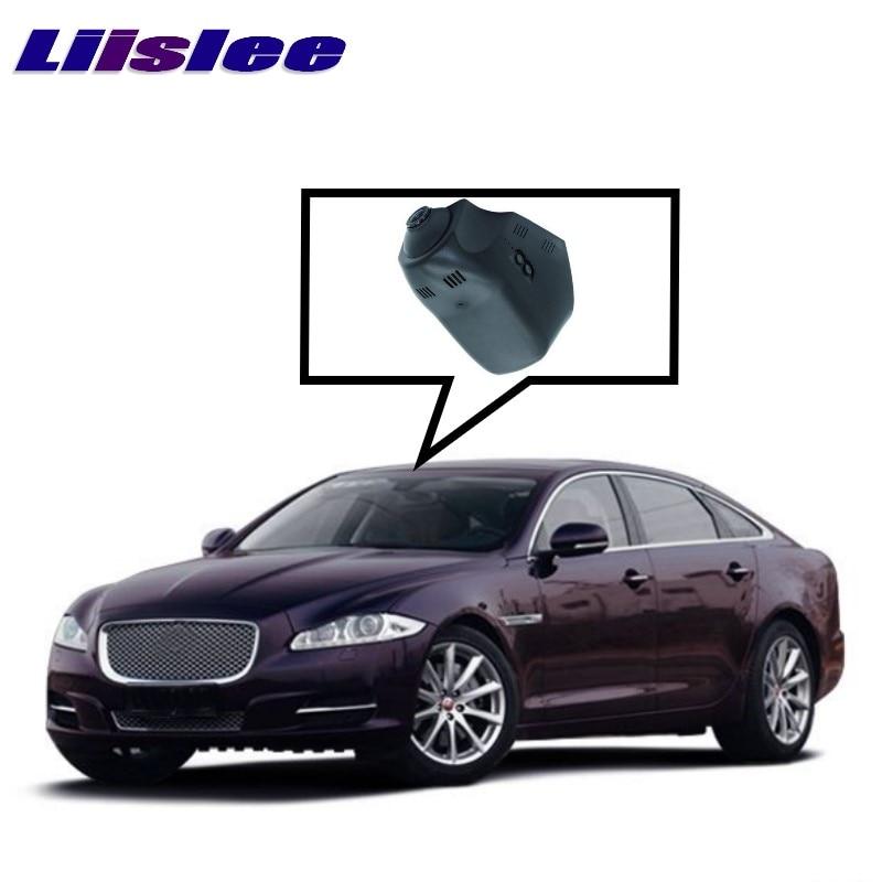 LiisLee Car Black Box WiFi DVR Dash Camera Video Recorder For Jaguar XJ XJ-L X351 After Facelift 2015~2017 F-TYPE X152 2013~2017 gps for land rover aurora jaguar special car dvr wifi fm hd 1080p dash camera parking car dvrs rearview mirror video recorder