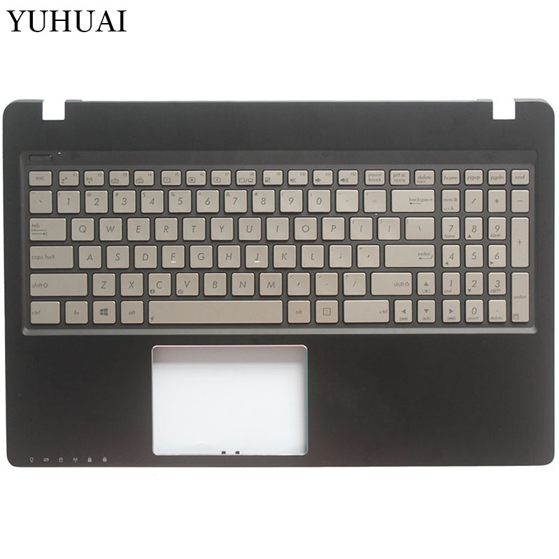 US NEW Laptop Keyboard for ASUS Q500 Q500A English keyboard With Backlit Palmrest Upper Cover new for asus g75 g75v g75vx g75vw g75vm laptop keyboard with backlit us version with frame