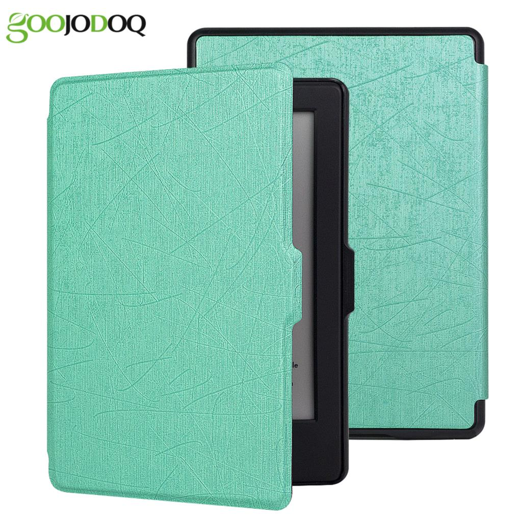 For Kindle 8 Case 8th Generation Lightest PU Leather Smart Cover for Amazon Kindle 8 Case 2016 E-book E-reader Auto Wake/Sleep magnetic case for new kindle 8th generation 2016 6 inch ebook smart sleep pu leather amazon cover ultra slim thin film pen