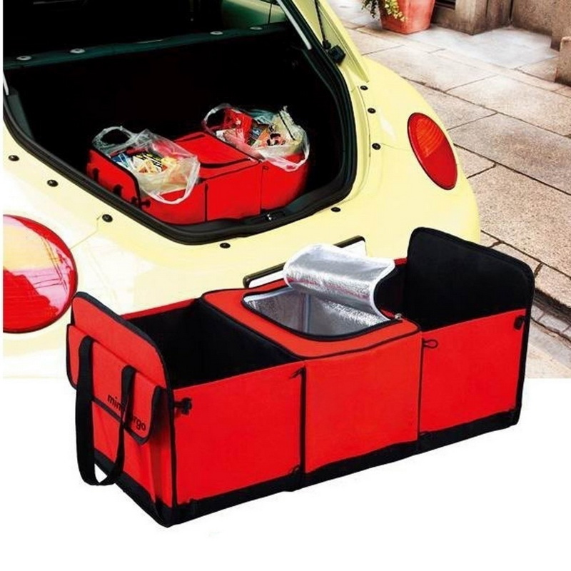 lasperal 2 types mesh net pocket folding truck storage box. Black Bedroom Furniture Sets. Home Design Ideas