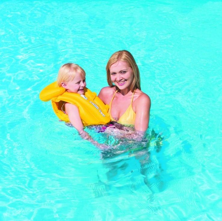 32034 Bestway 51cmx46cm Baby Vest Step B 20x18 Childrens Swimming Suit