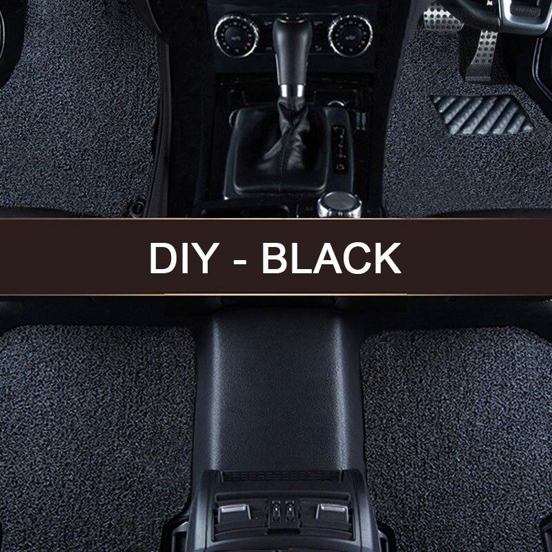 LUNDA DIY fit fit car floor mats for Porsche Cayenne SUV 911 Cayman Macan Panamera 3D car styling heavy duty carpet floor liner
