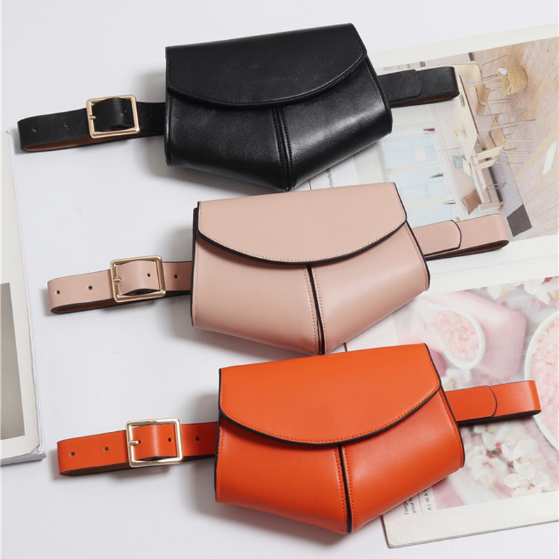 Women Serpentine Fanny Pack Ladies New Fashion Waist Belt Bag Mini Disco Waist bag Leather Small Shoulder Bags 040301(China)
