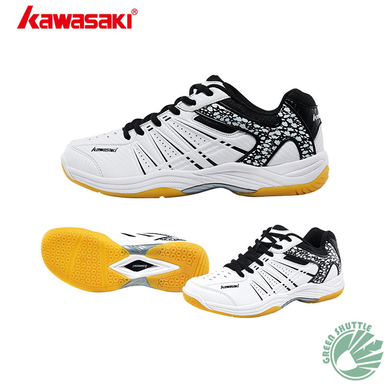 100 Original Kawasaki Badminton Shoes Men And Women Badminton Training Shoes Whirlwind Series K 062 063