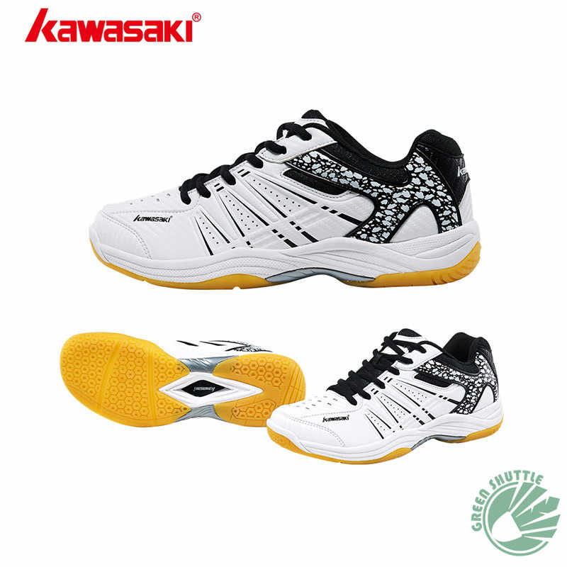 100% Original Kawasaki Badminton Shoes Men And Women Badminton Training Shoes Whirlwind Series K-062 063