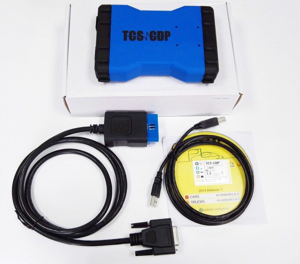 Tcs cdp pro Deux vert conseil avec bluetooth CDP TCS OBDII interface Scanner Pour VOITURE/CAMION/Générique VD TCS cdp pro de diagnostic