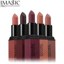 Imagic Brand Lip Makeup Matte Lipstick Long-lasting Red Matt