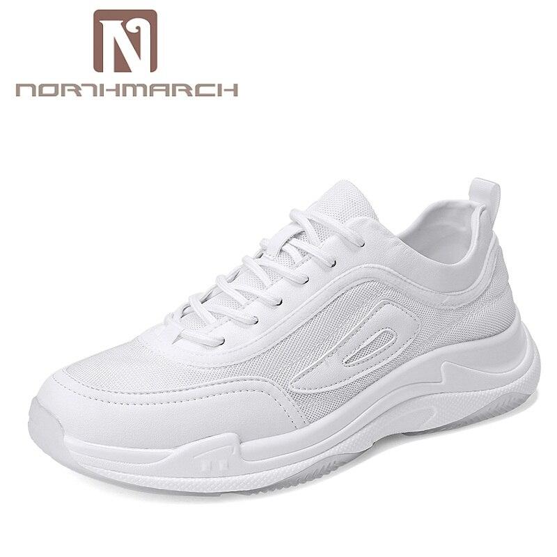 NORTHMARCH Летняя обувь красовки Для мужчин дышащие кроссовки Для мужчин Мужская обувь Для мужчин повседневная обувь Zapatillas De hombre Moda 2018