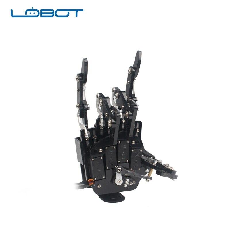 LOBOT uHand2.0 DIY радиоуправляемый робот, независимая рука, пальцы и LFD 01, Anti0 block сервис
