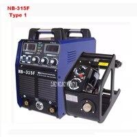 Новое поступление 220v380v двойной Напряжение сварочный аппарат nb 315f Разделение Провода подачи CO2 сварочный аппарат 0.8 8 мм 50/60 гц Лидер продаж