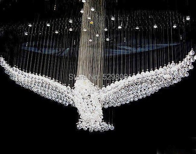Kronleuchter Mit Adler ~ Freies verschiffen adler design moderne kristall kronleuchter für